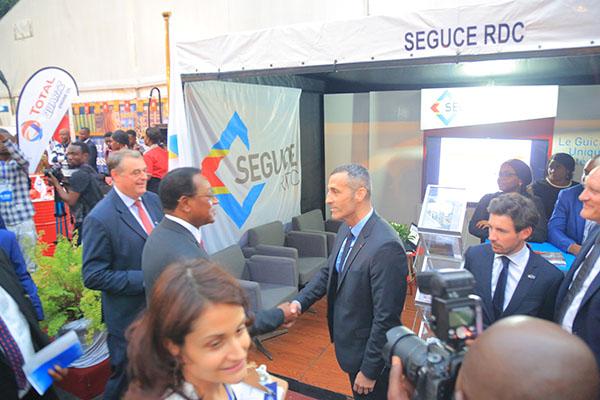 Le DG SEGUCE reçoit le Premier Ministre Bruno Tshibala