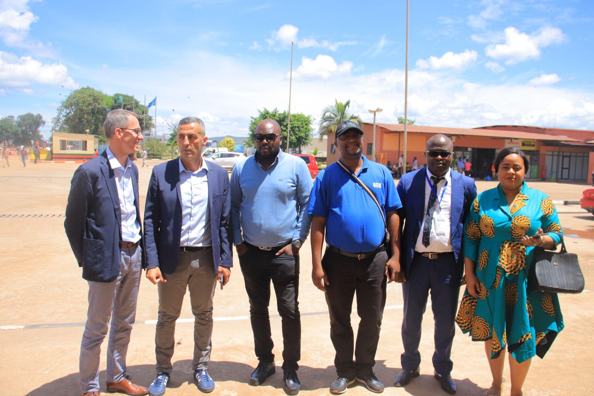 Mission au poste frontière de kasumbalesa