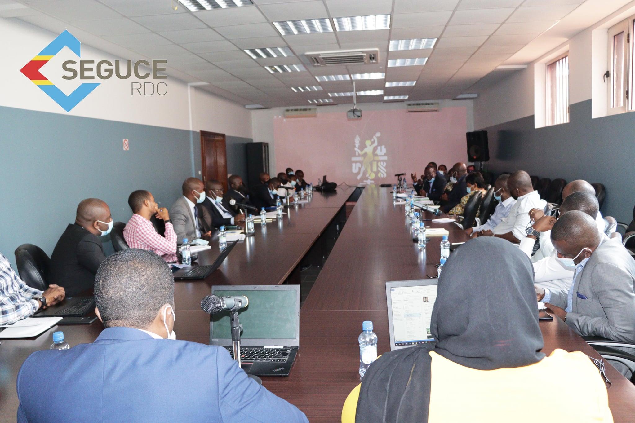 Réunion entre SEGUCE-OGEFREM et Agents Maritimes